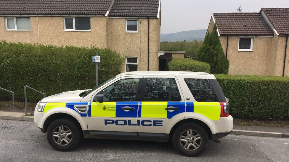 Man charged over Darwen police ammonia attack