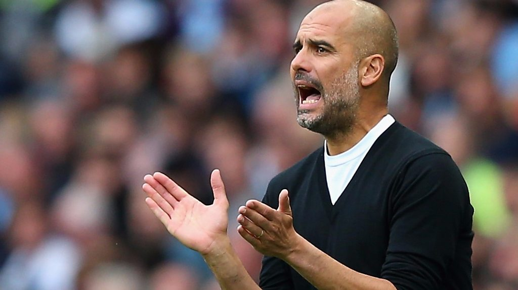 Manchester City 5-0 Crystal Palace: Pep Guardiola says City 'feeling' better this season
