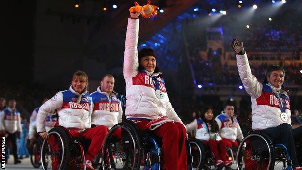Rio Paralympics 2016: Russian doping ban 'cynical', says PM