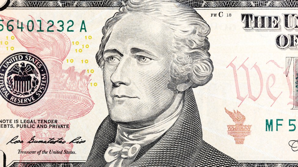 billete de 10 dólares