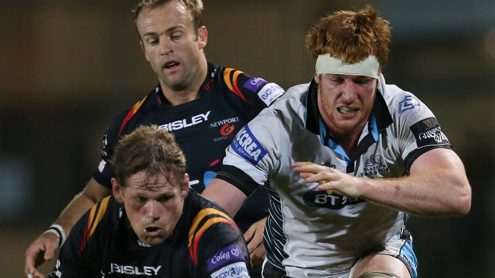 Glasgow beat Dragons to end run of defeats