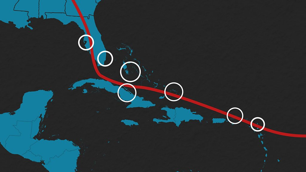 Charting Hurricane Irma's path of destruction