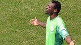Juwon Oshaniwa remonstrates with Nigeria