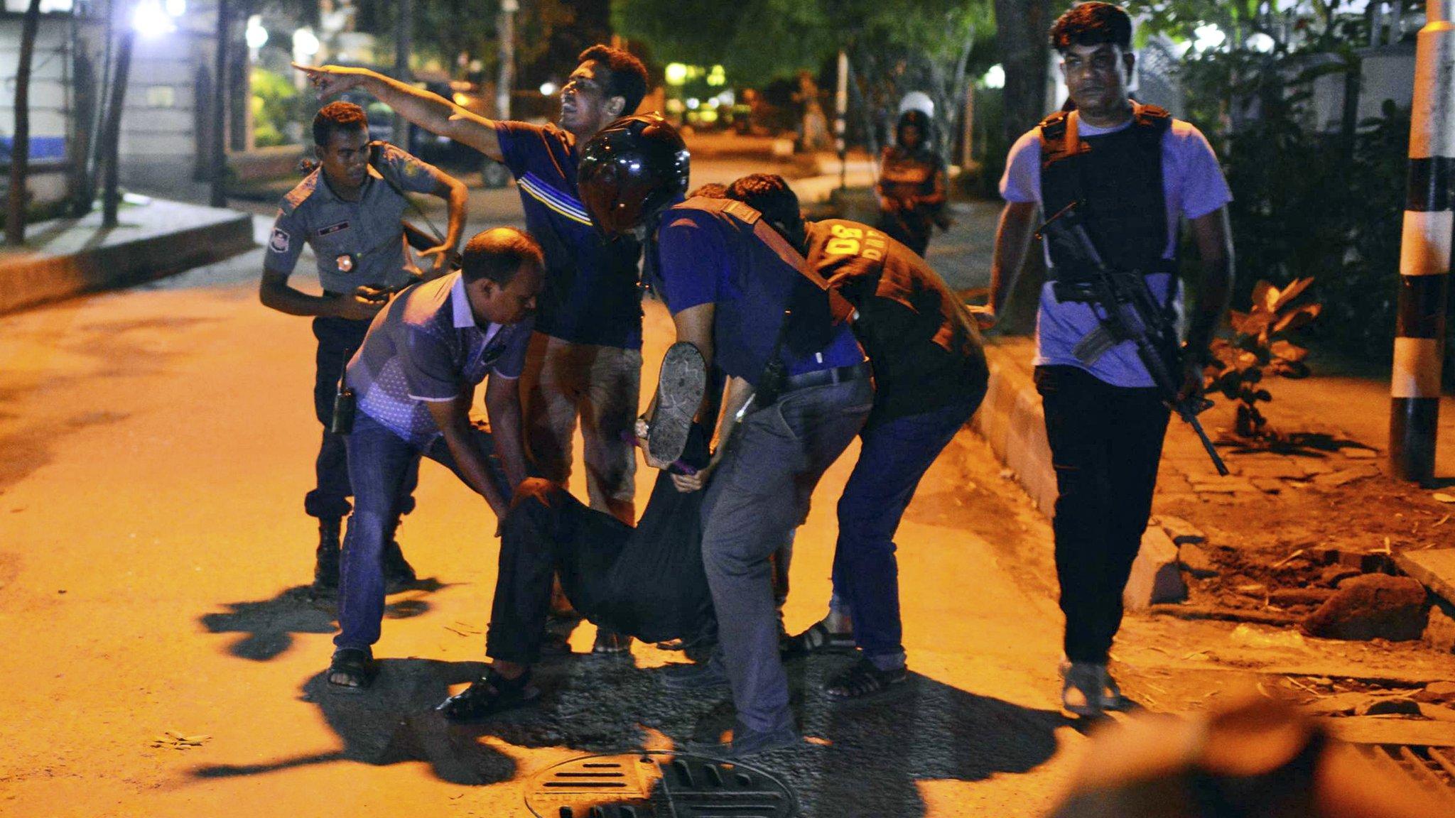Gunmen take hostages in Bangladeshi capital Dhaka