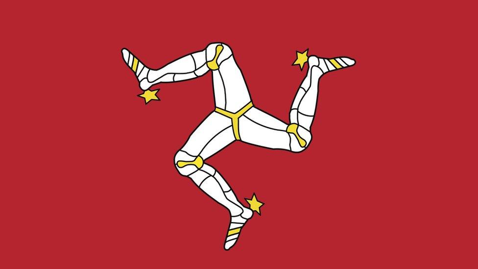 Bandera de la Isla de Man
