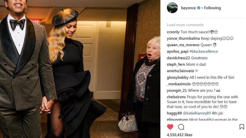Жінка стала зіркою інтернету через випадкове фото з Бейонсе