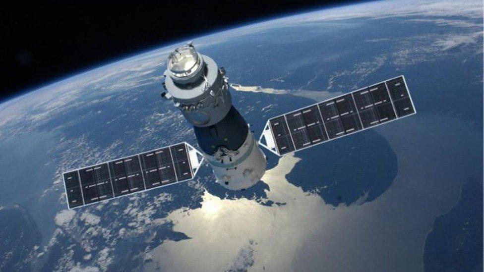 La nave espacial china, Tiangong-1 (Foto: China Manned Space Engineering)