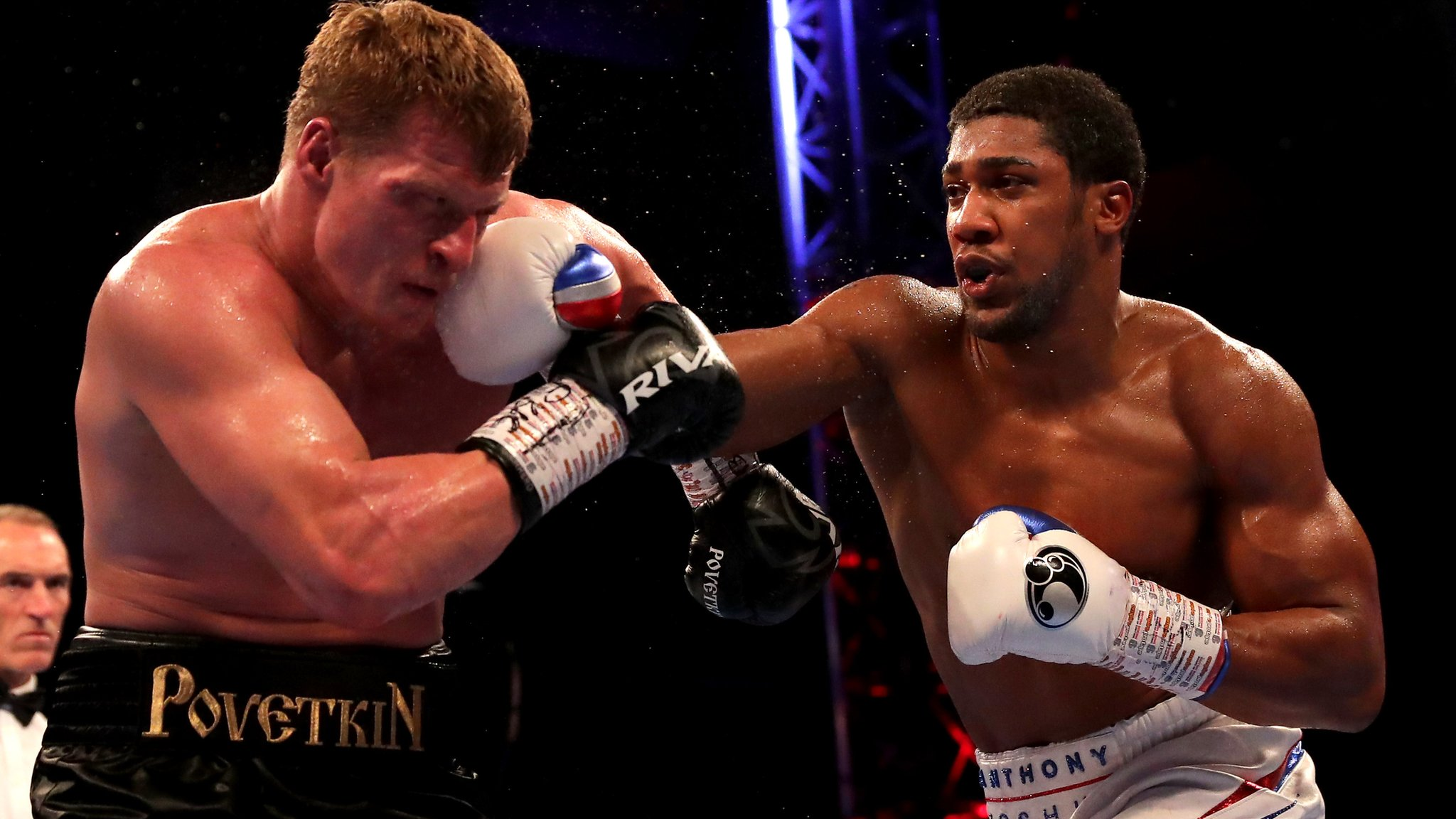 Anthony Joshua stops Alexander Povetkin to retain world heavyweight titles