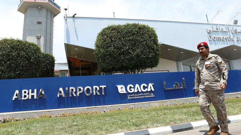 Yemen war: Second assault on Saudi Abha airport in two days