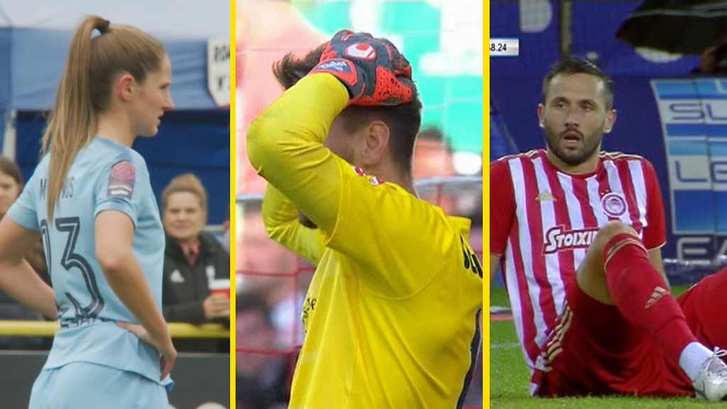 Own goals: Man City Women, Stuttgart & Olympiakos's mistakes
