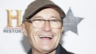 Phil Collins: 'I'm back, a bit'