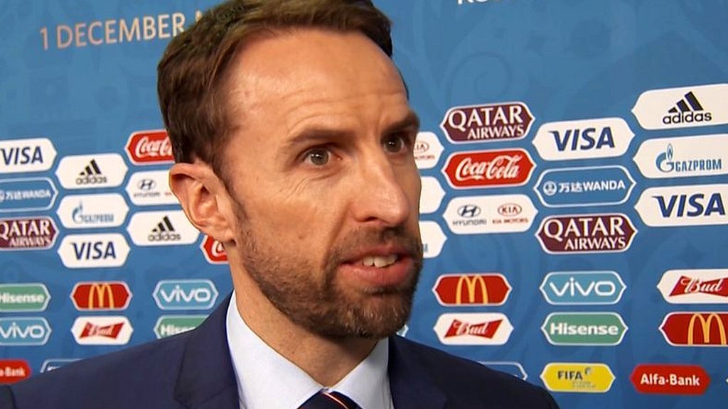 World Cup: Gareth Southgate says England are 'looking forward to getting on with it'