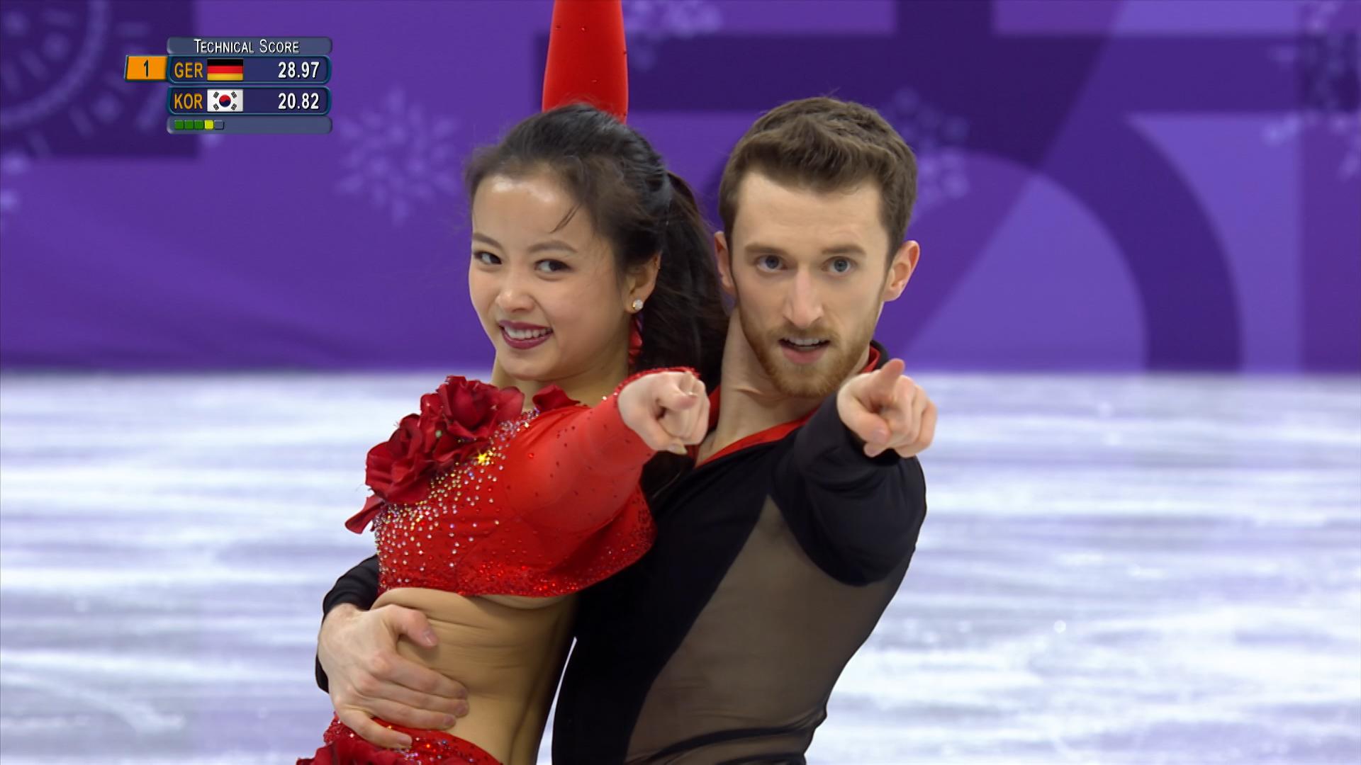 Winter Olympics 2018 Wardrobe Malfunction For South Korean Skater Yura Min