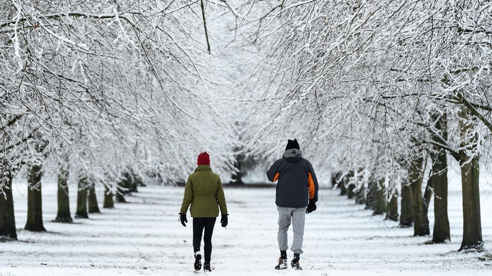 Icy conditions cause travel disruption in parts of UK