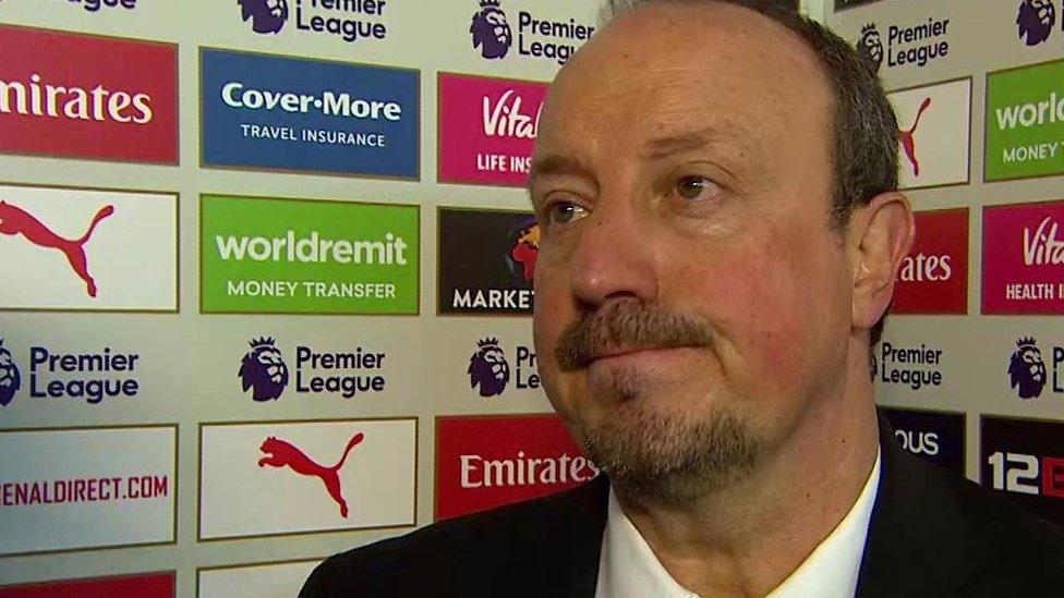 Arsenal 1-0 Newcastle: We need additional players in January - Rafael Benitez