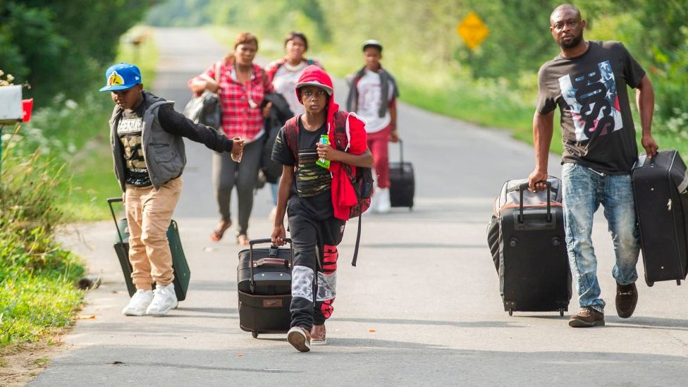 Trudeau takes 'sharp turn' away from 'refugees welcome'