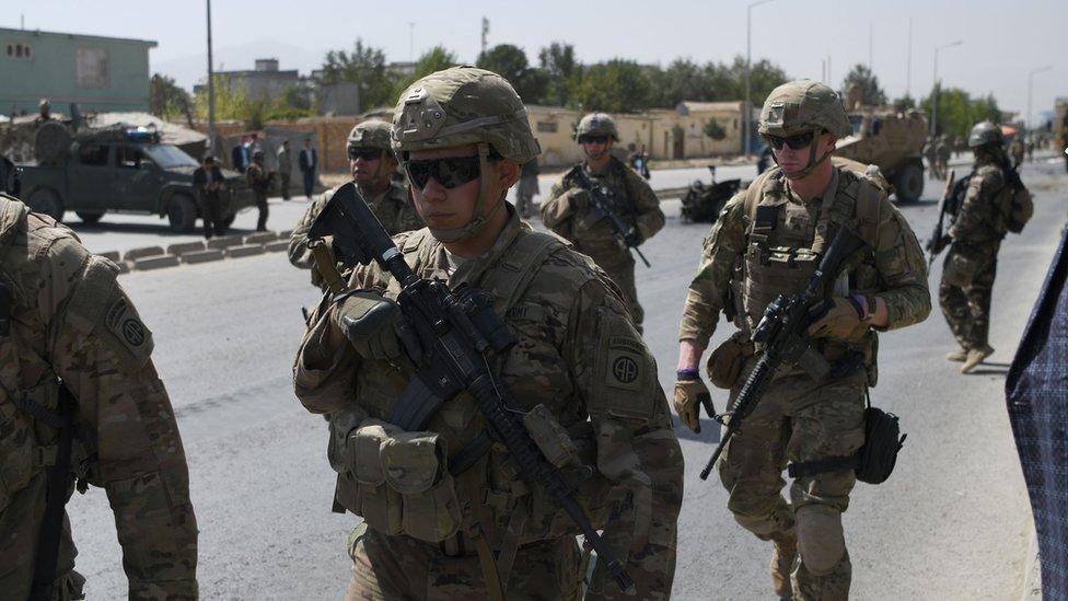 """امریکایي جنرال:""""که ځواکونه وځي افغانستان د طالبانو لاس ته ورځي"""""""