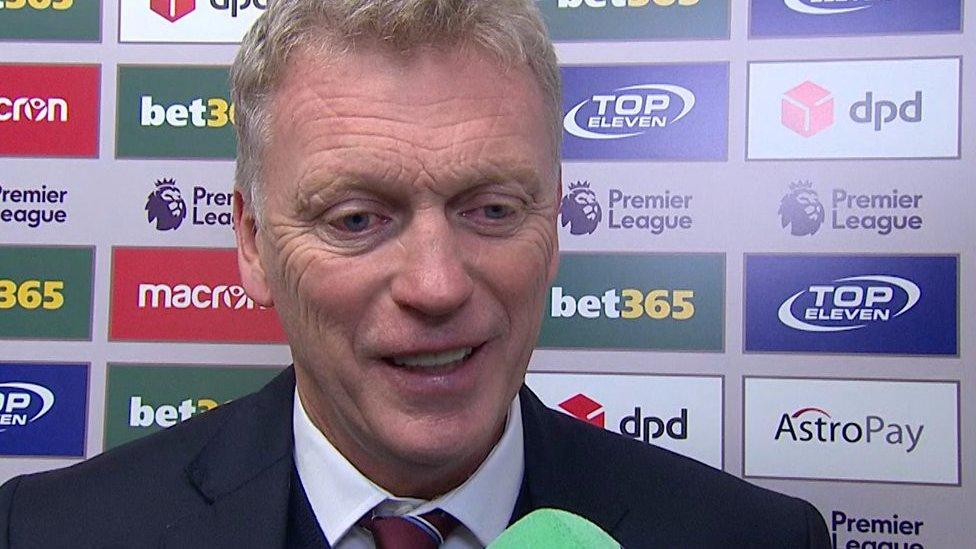 Stoke 0-3 West Ham: Hammers gaining momentum - Moyes