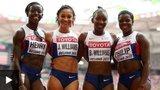 Women's 4x100m relay team
