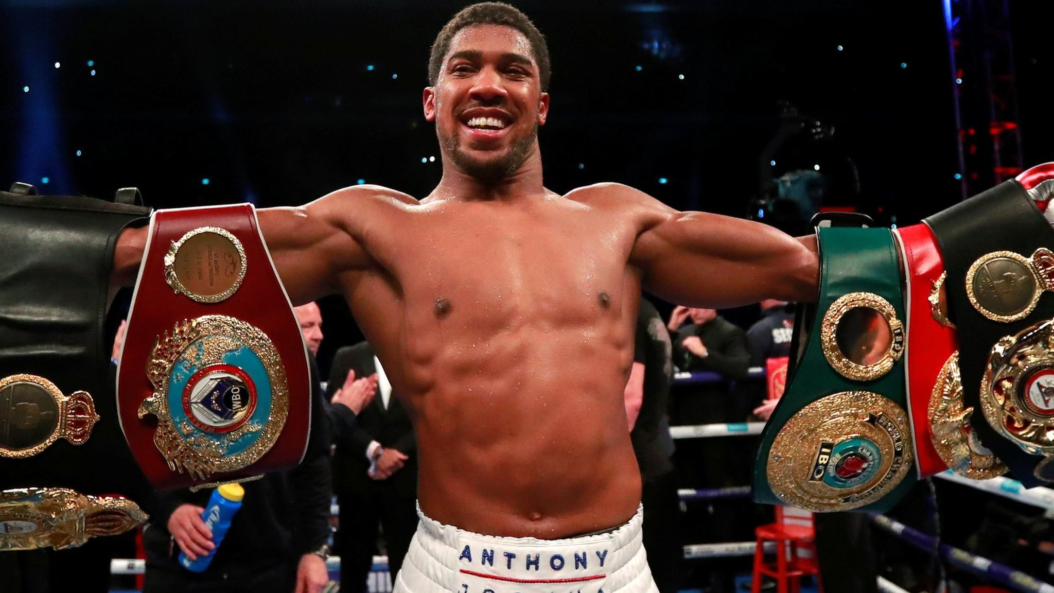 Anthony Joshua stops Alexander Povetkin to retain world heavyweight titles