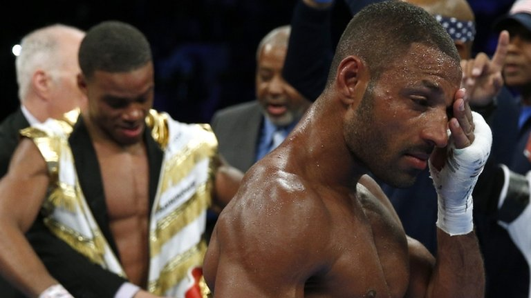 Kell Brook loses IBF world welterweight title to Errol Spence Jr