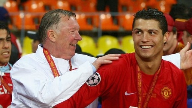 Sir Alex Ferguson signed Ronaldo while Manchester United squad waited on the bus