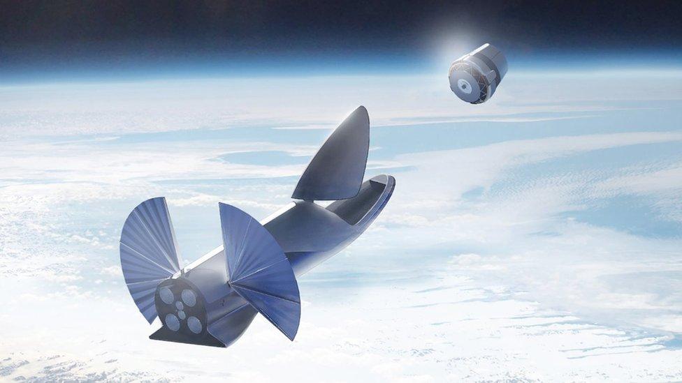 El Sistema de Transporte Interplanetario sería puesto a prueba en un primer viaje a Marte sin tripulación en 2022.