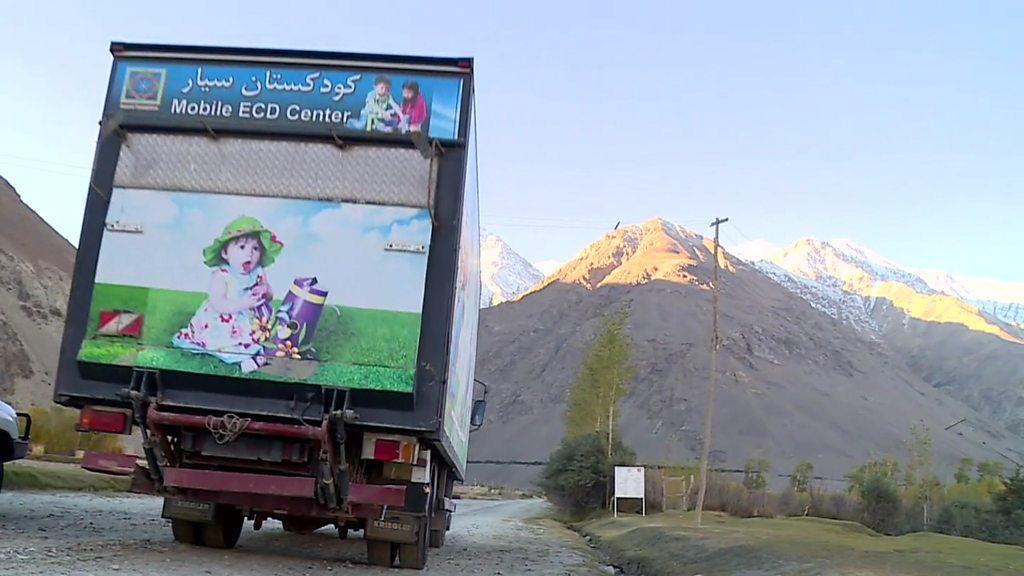 کودکستان سیار افغانستان؛ روستا به روستا، کوچه به کوچه