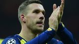 Former Arsenal striker Lukas Podolski