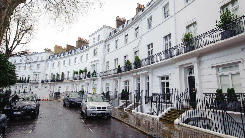 Egerton Crescent, Kensington, London