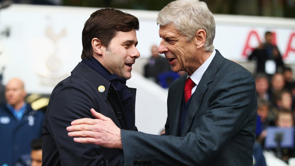 Tottenham Hotspur v Arsenal - team news & stats