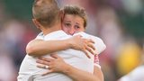 Mark Sampson and Ellen White