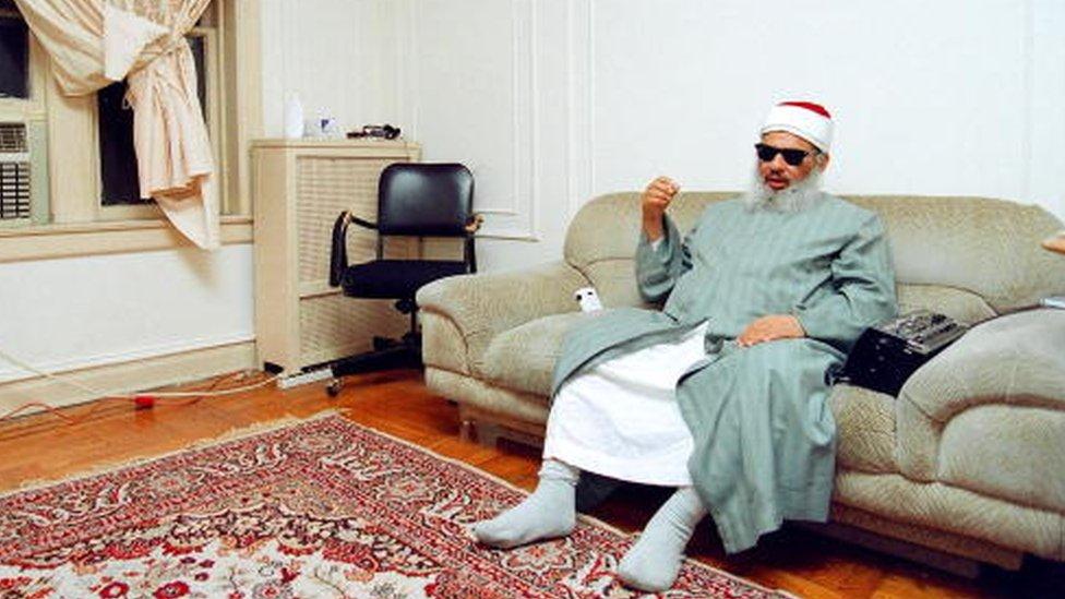 Sheikh Omar Abdel Rahman en New York en 1993