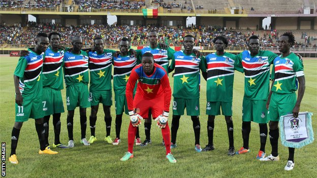 South Sudan national football team