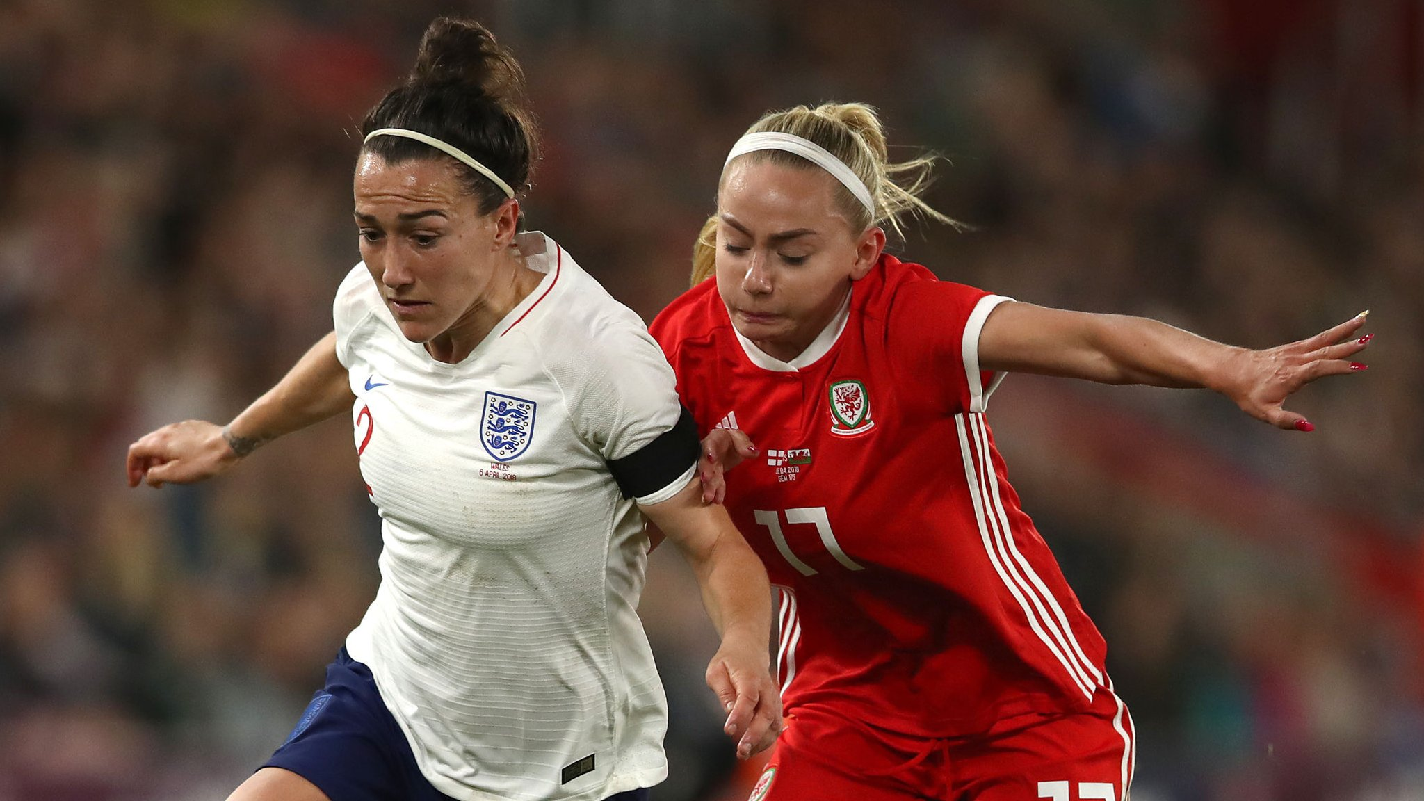 Wales women hold Neville's England in World Cup qualifier