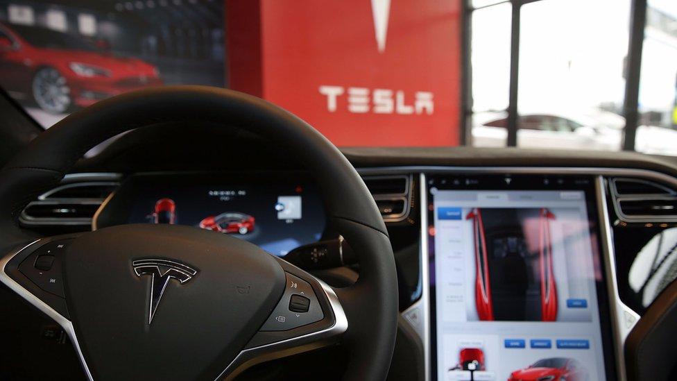 Tesla Updates Software After Car Hack Bbc News
