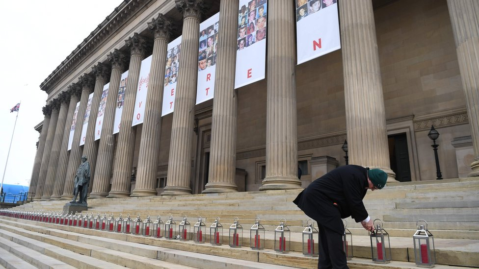 Hillsborough: Liverpool marks 30 years since disaster