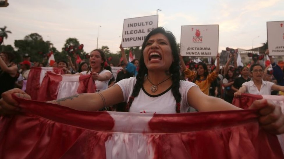 Fujimori: New rallies against Peru ex-president's pardon
