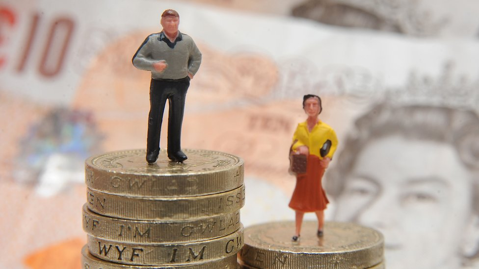 Mothers' pay lags far behind men