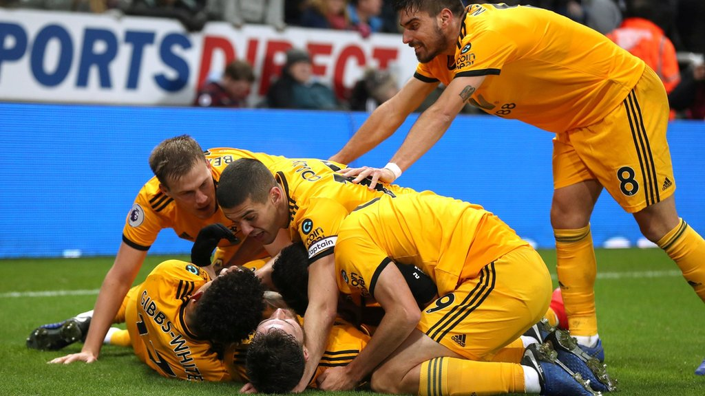 0455be7bb Newcastle United v Wolves live in Premier League - Live - BBC Sport