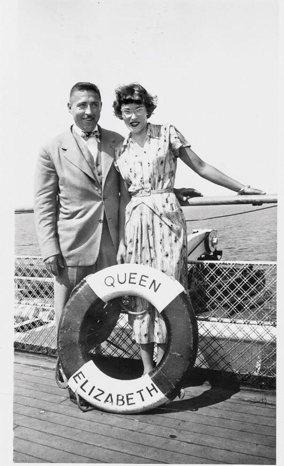 Alfred y Helen Free (Foto cortesía: Helen Free).