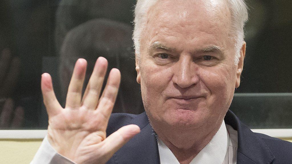 Ratko Mladic removed from war crime court after outburst