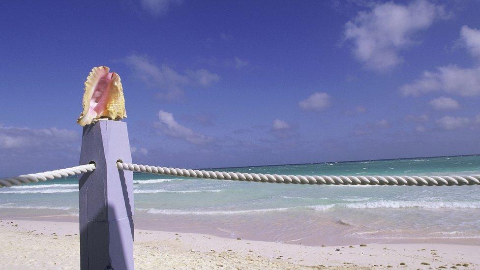 Isla Harbor, en las Bahamas