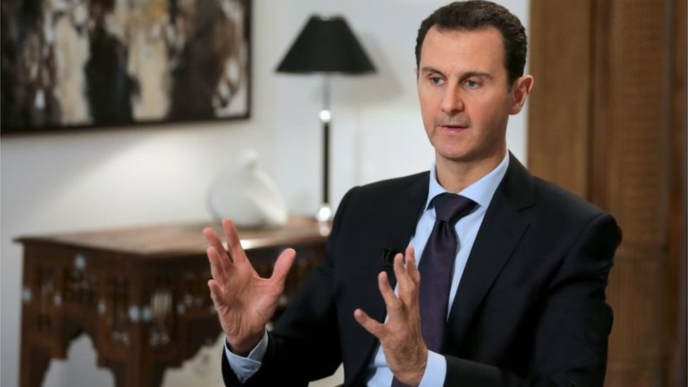 Syrian President Bashar al-Assad in Damascus. Photo: 11 February 2016