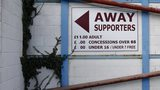 Away entrance