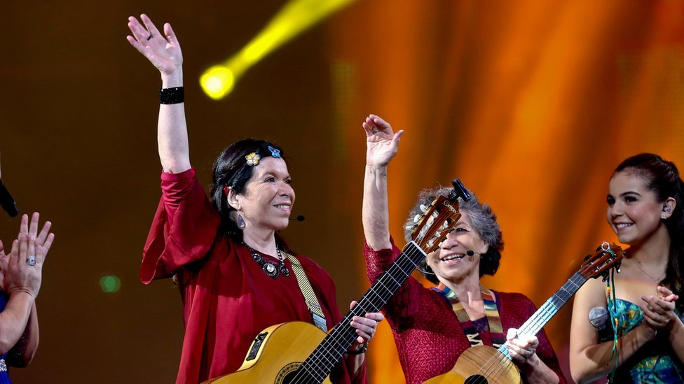Tita e Isabel Parra