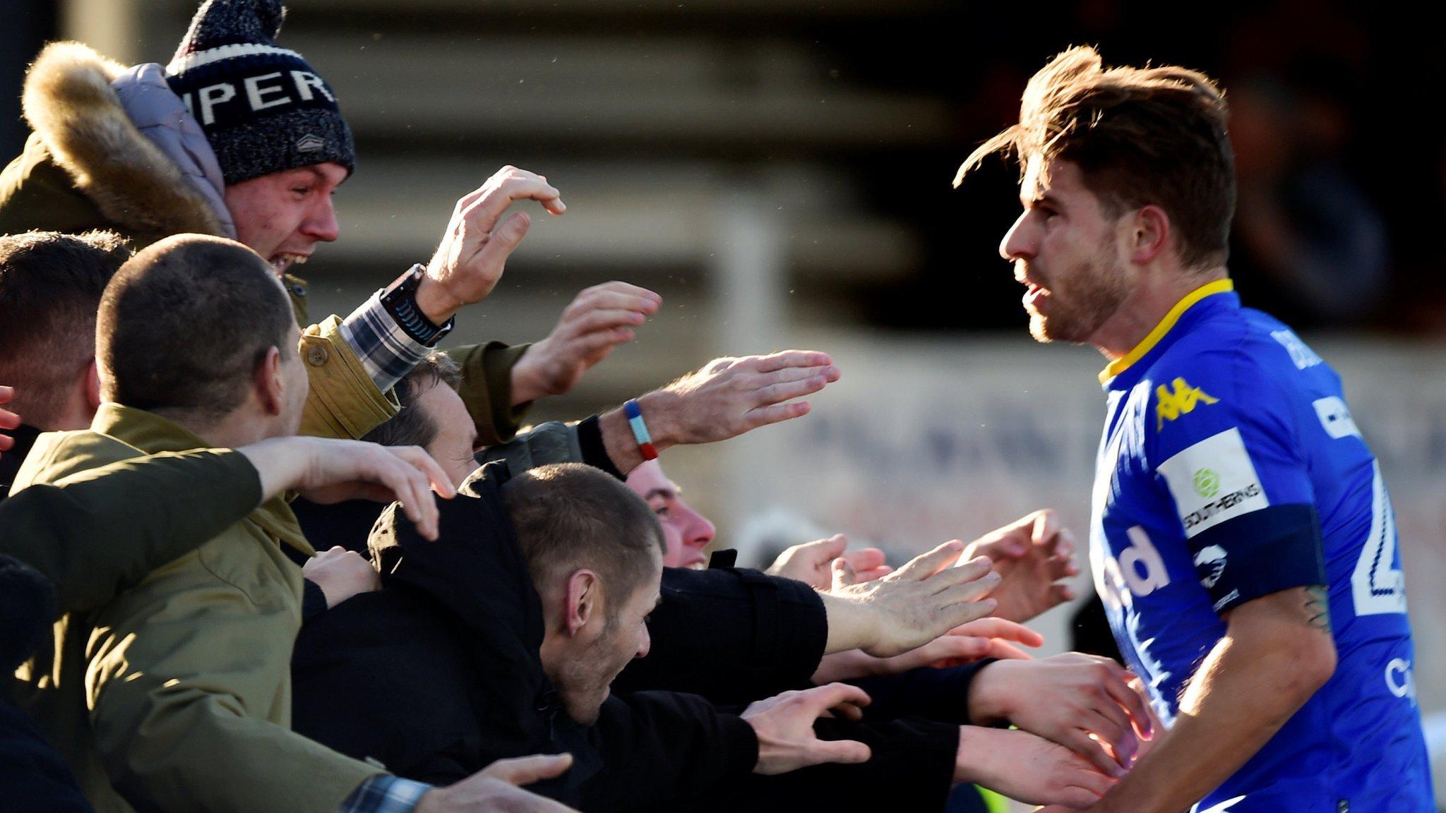 FA Cup: Gaetano Berardi puts Leeds United ahead wi