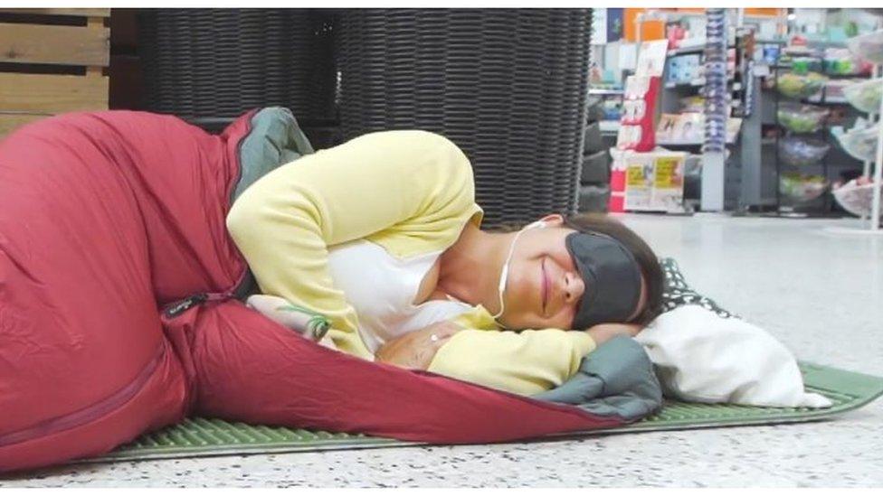 Heatwave: Supermarket sleepover for cool customers