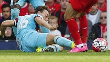 West Ham midfielder Mark Noble