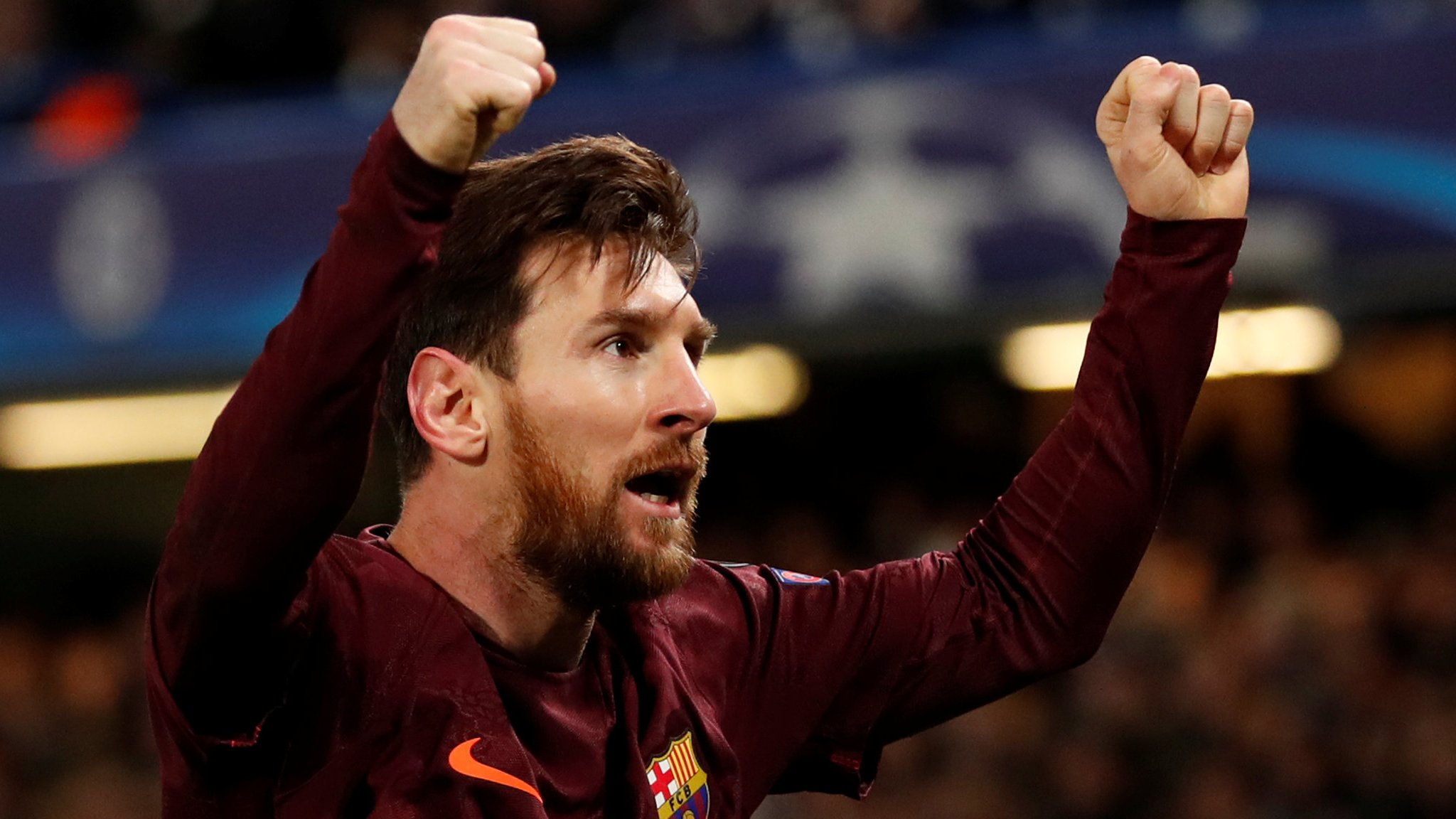 Messi equaliser earns draw following Chelsea error